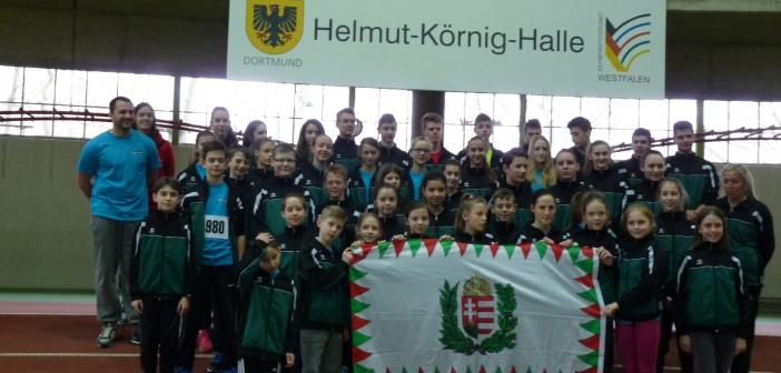 Budapesti  siker Dortmund Fedett-pályás versenyén!